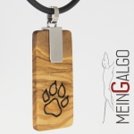 "Paw ""EVITA - deluxe"" handmade with olive wood"